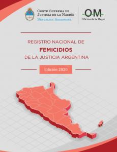 Registro Nacional de Femicidios de  la Justicia Argentina, Edición 2020