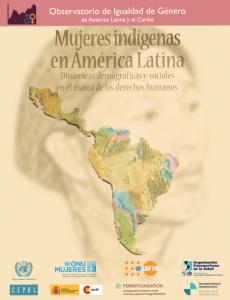 Portadilla Documento Mujeres Indígenas en América Latina