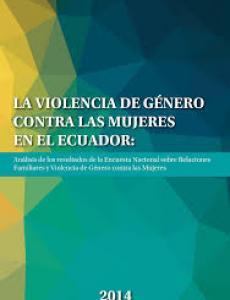 Portada La violencia de género contra las mujeres en el Ecuador