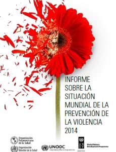 Portada Informe sobre la situación mundial de la prevención de la violencia 2014
