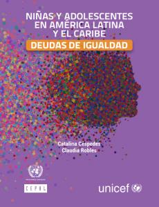 Portada Niñas y adolescentes en América Latina y el Caribe Deudas de igualdad