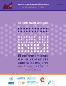 Portada Informe Anual Observatorio de Igualdad de Género