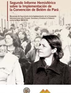 Portada Segundo informe hemisférico del Mecanismo de Seguimiento de la Convención Belém do Pará