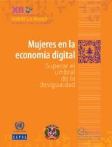 Portada Mujeres en la economía digital: superar el umbral de la desigualdad
