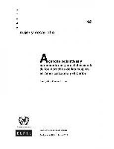Portada Agendas legislativas y parlamentarias para el desarrollo de los derechos de las mujeres en América Latina y el Caribe