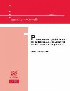Portada Protección social y redistribución del cuidado en América Latina y el Caribe: el ancho de las políticas