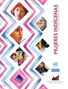 Portada Mujeres indígenas: nuevas protagonistas para nuevas políticas