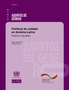 Portada Políticas de cuidado en América Latina: forjando la igualdad