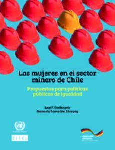 Portada Las mujeres en el sector minero de Chile: propuestas para políticas públicas de igualdad