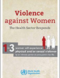 Portada Violencia contra la mujer: Respuesta del sector de la salud