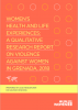Women's Health and Life Experiences: A Qualitative Research Report on Violence Against Women in Grenada