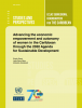 Portada Advancing the economic empowerment and autonomy of women in the Caribbean through the 2030 Agenda for Sustainable Development