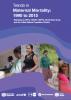 Portada Trends in Maternal Mortality